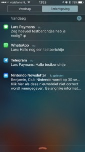 iphone-berichtencentrum-dagsortering