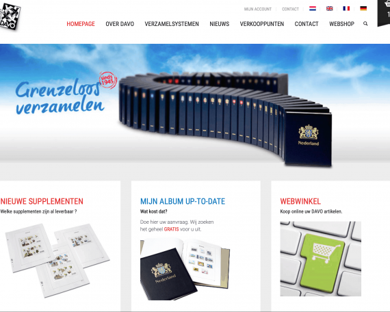 Online WordPress platform Uitgeverij Davo – Deventer