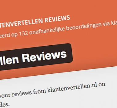 WordPress plugin: Klantenvertellen Reviews